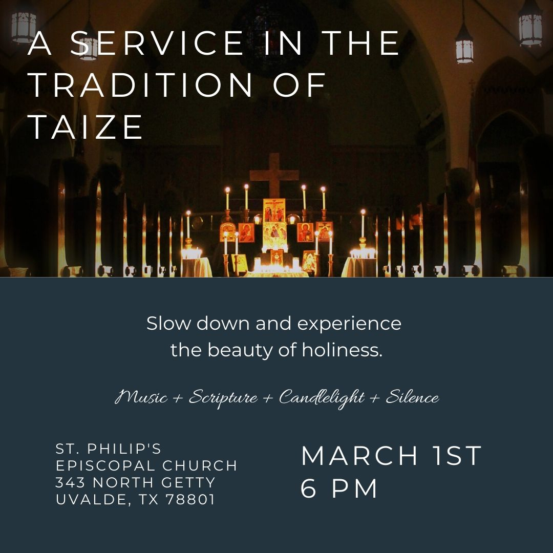 A Service in the Tradition of Taizé