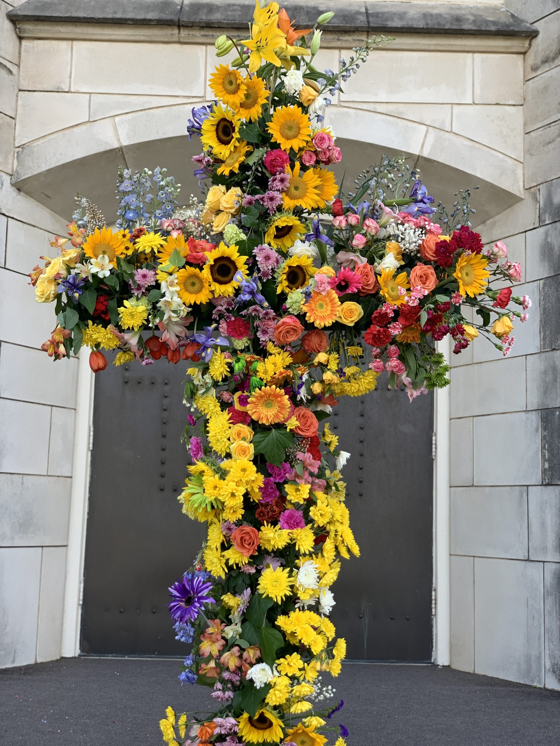 Easter Cross at St. Philip's