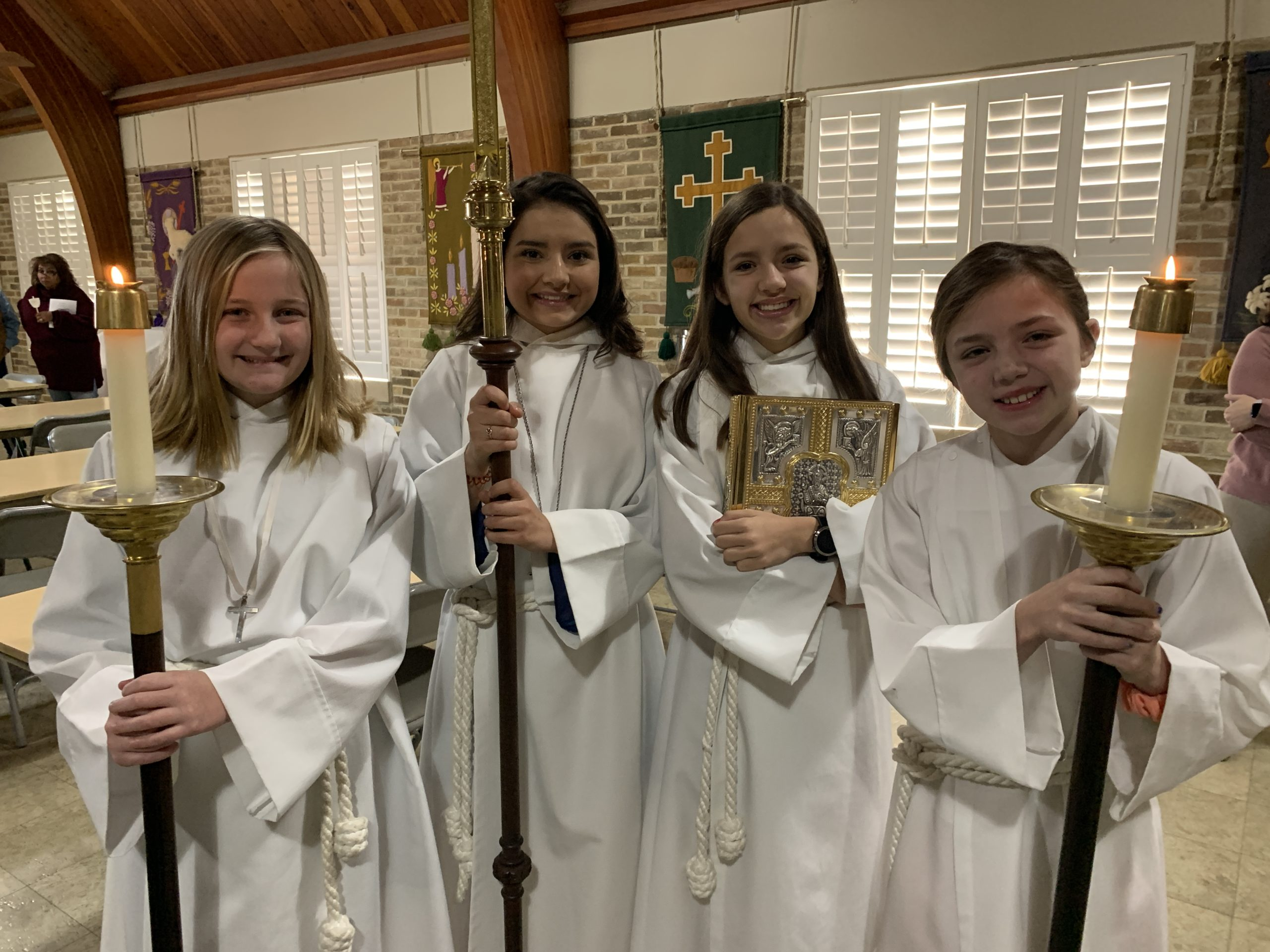 All Girl Acolytes