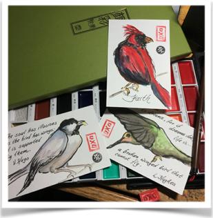 Birds and Art - art as a spiritual journey