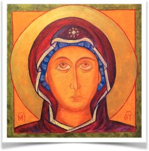 Icon by Arnoldo Romero - Art and Spirituality