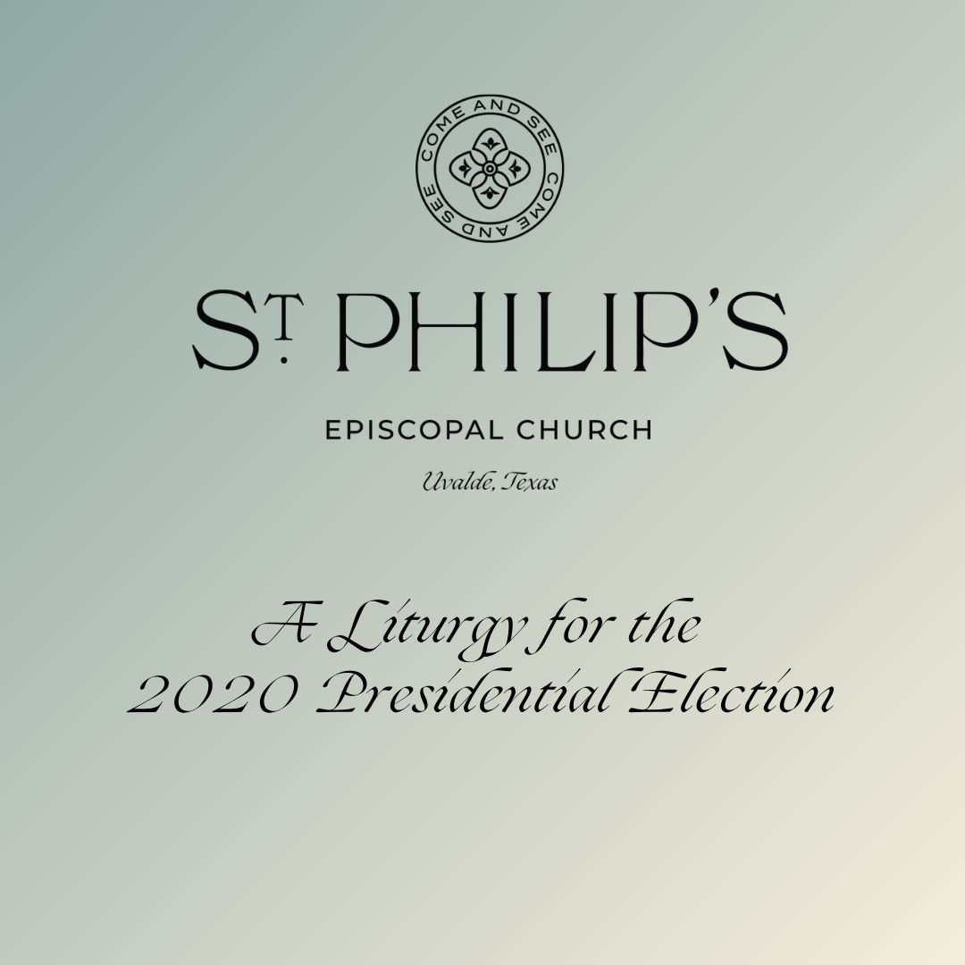 Liturgy For Election2020